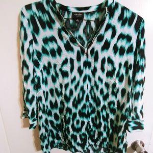 Womens nicole by Nicole Miller blouse size medium